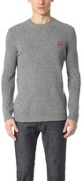 McQ by Alexander McQueen Alexander McQueen Swallow Crew Neck Sweater