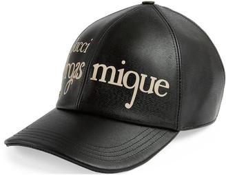 Gucci Orgasmique print baseball hat