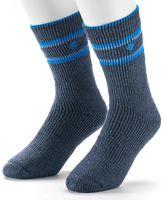 Columbia 2-pk. Striped Wool-Blend Crew Socks - Men