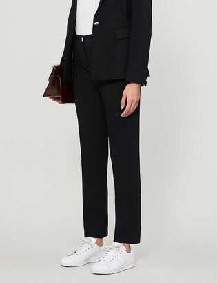 Ted Baker Tapered crepe trousers