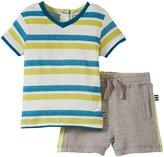 Splendid Classic Stripe Short Set (Toddler/Kid) - Stripe-12-18 Months