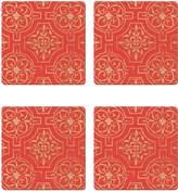 Cala Home Gold Medallion Coasters (Set of 4)