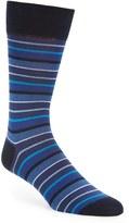 Bugatchi Men's 'Pop' Stripe Socks