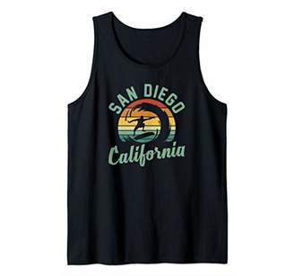 San Diego California Surfing Skateboarding Men Women Tank Top