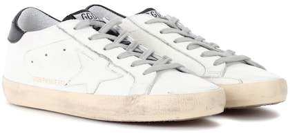 Golden Goose Deluxe Brand Exclusive to mytheresa.com – Superstar leather low-top sneakers