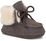 Sole Society Baby Sparrow sheepskin lined moccasin