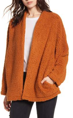 ALL IN FAVOR Cozy Open Front Cardigan