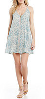 O'Neill Gio Printed Tank Swing Dress