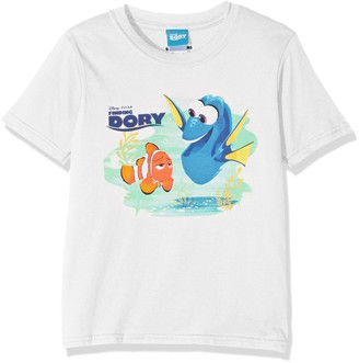 Disney Finding Dory Girls Marlin & Dory T-Shirt