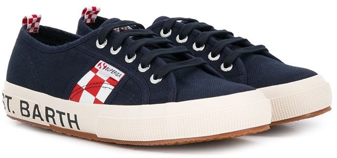 MC2 Saint Barth Kids lace up sneakers