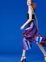 Diane von Furstenberg Draped Wrap Maxi Skirt