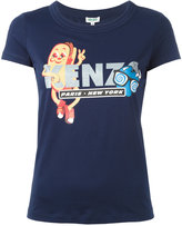 Kenzo hotdog print T-shirt - women - Cotton - XS