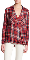 Willow & Clay Plaid Crossover Shirt