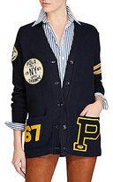 Polo Ralph Lauren Cotton Varsity Cardigan