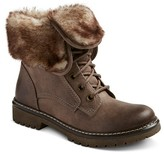Women's Katia Shearling Style Boots - Grey - Mossimo Supply Co.