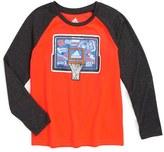 adidas 'Undefeated' Raglan Sleeve Climalite ® T-Shirt
