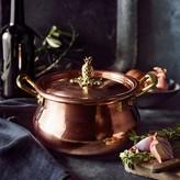 Ruffoni Historia Copper Stock Pot with Pineapple Knob