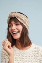 Anthropologie Tweed Bow Headband