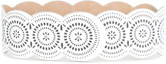 Carolina Herrera Perforated Chunky Belt