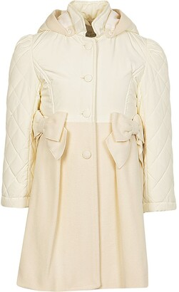 Lapin House Hooded Bow Detail Tailored Coat