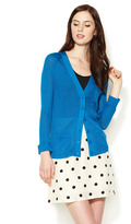 Marc by Marc Jacobs Olimpia Silk Ribbed Cardigan