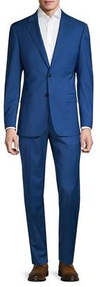 Armani Collezioni Solid Wool Suit