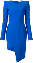 Thierry Mugler fitted asymmetric dress