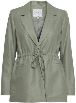 Ichi Summer Jacket in Hedge Green - 36