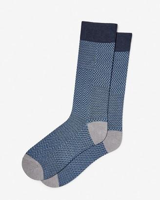 Express Multi-Pattern Dress Socks