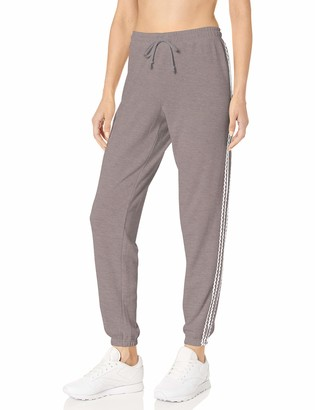Betsey Johnson Women's Zig Zag Stripe Boyfriend Sweatpant