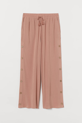 H&M Crepe trousers