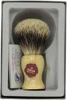 Omega Elegant Silver Tip Badger Shaving Brush