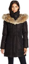 Pajar Women's Bianca Long Lux Parka with Fur Hood