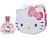 Hello Kitty by Sanrio Co. EDT SPRAY 3.3 OZ & LUNCH BOX for WOMEN ---(Package Of 3)