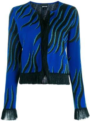 Just Cavalli fringed cardigan