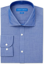 Vince Camuto Slim-Fit Chambray Solid Dress Shirt