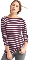 Gap Modern boatneck stripe tee