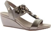 Anne Klein Women's Cassie T-Strap Wedge Sandal