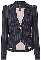 Smythe Pouf Sleeve Striped Blazer