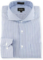 Neiman Marcus Striped Oxford Dress Shirt