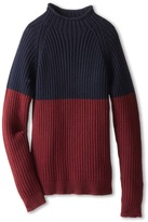 Dolce & Gabbana Colorblock Pullover Sweater (Big Kids)