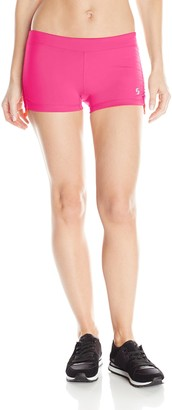 Soffe Women's Side Ruched Short