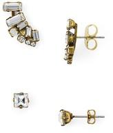 Sorrelli Swarovski Crystal Earrings, Set of 2 Pairs