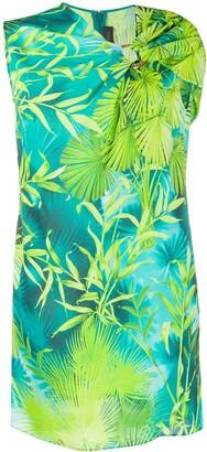 Versace Jungle print mini dress
