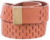 Diane von Furstenberg Leather Narrow Belt