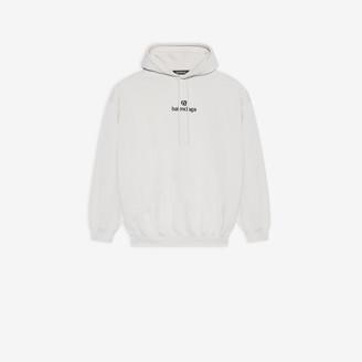 Balenciaga Sponsor Medium Fit Hoodie