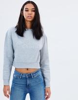 Calvin Klein Jeans Embroidered Sweatshirt