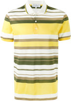 Salvatore Ferragamo striped polo shirt - men - Cotton - M