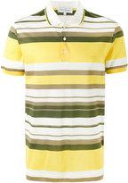 Salvatore Ferragamo striped polo shirt - men - Cotton - M