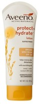 Aveeno Protect + Hydrate Lotion Sunscreen Broad Spectrum - SPF 30 - 3 oz